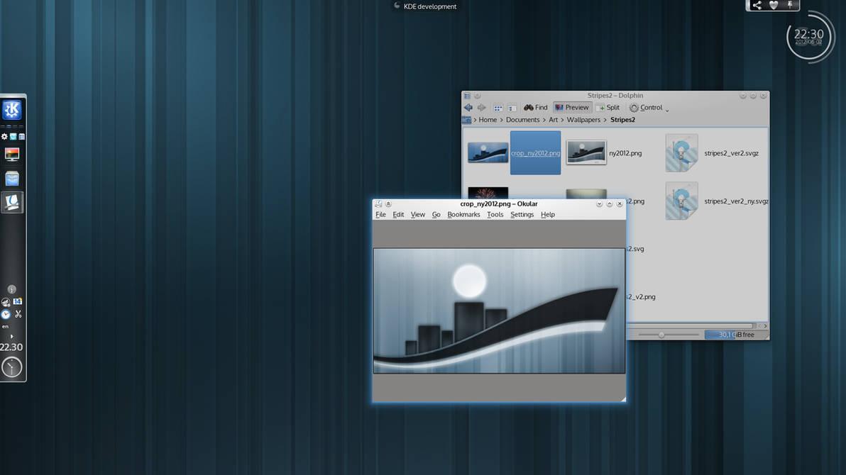 KDE Plasma 4.9 by ivan-cukic