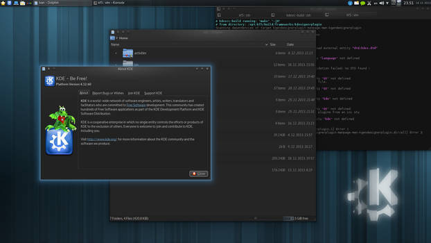 KDE Plasma 4.12