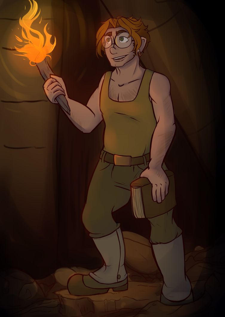 Octavian as Milo by LindyLizards