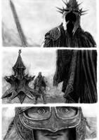 Witch King x Eowyn by EduardoLeon