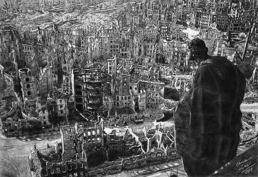 The Ruins of Dresden - 1945