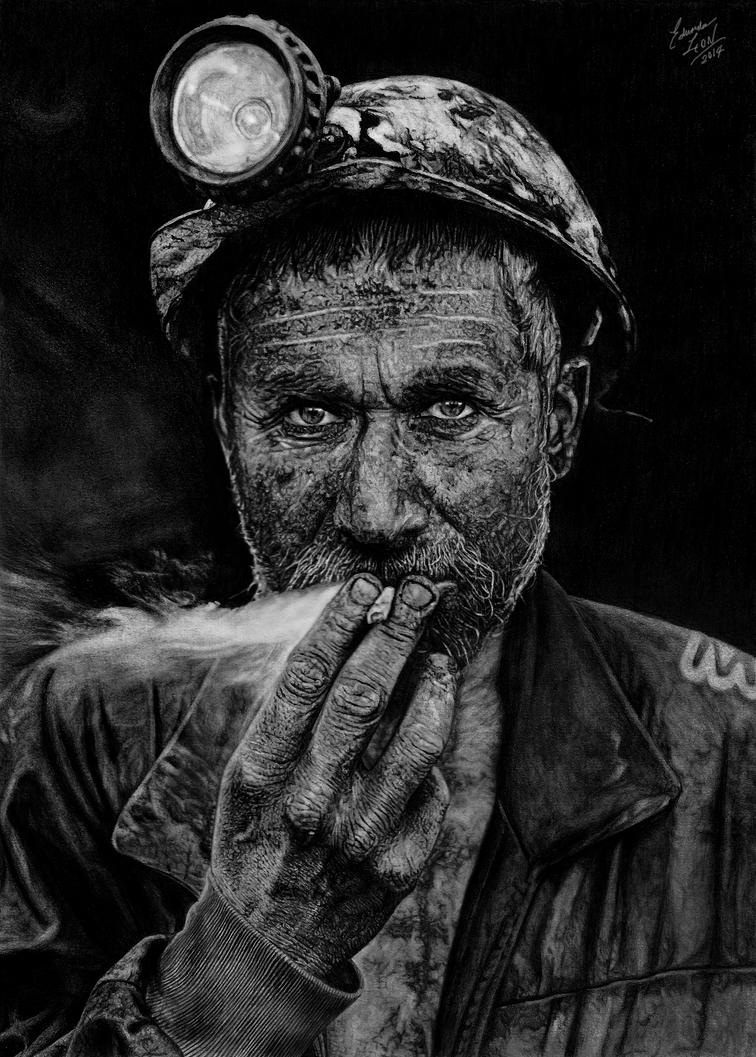 Smoking Coal by EduardoLeon