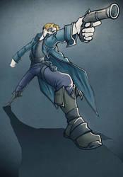 Amya: Gunslinger by Skwinky