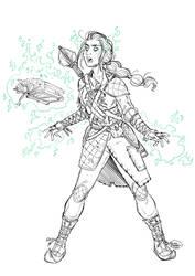 Warlock by ElisaFerrari