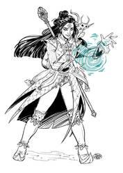 Sorcerer Warlock 3.0 by ElisaFerrari