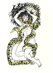 Snake by ElisaFerrari