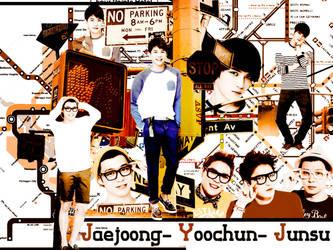 Wallpaper JYJ by bibi97nd