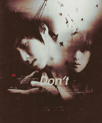 Don't forget me by bibi97nd