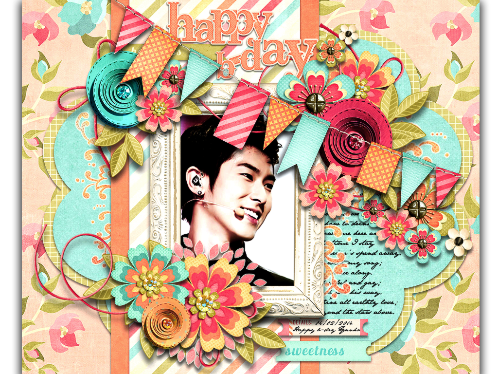 Happy B-day my love- Jung Yunho by bibi97nd