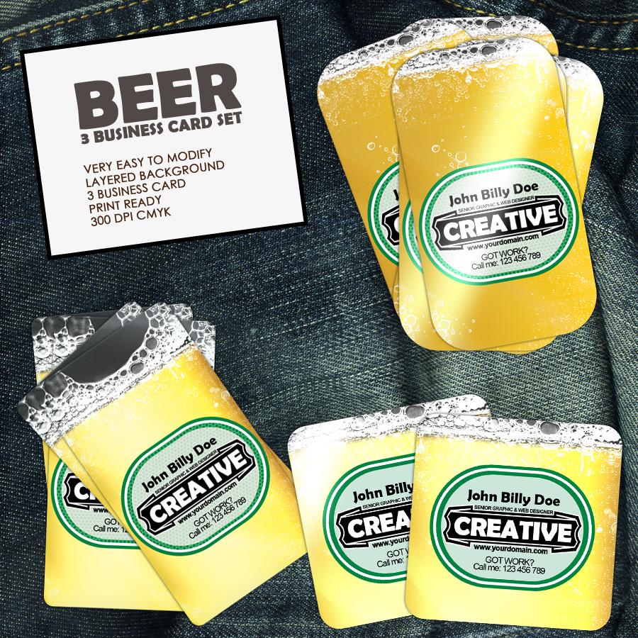I Like Beer Business Cards