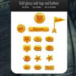 Gold 16 web elements