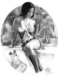 Wonder Woman -Superfriends by jfife