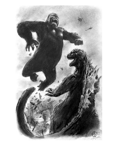 King Kong vs Godzilla by jfife on DeviantArt
