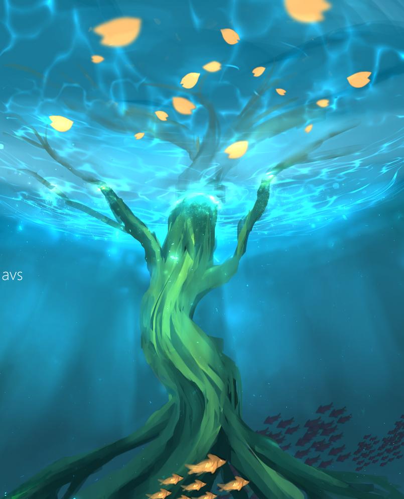 Underwater (wip) by Avls