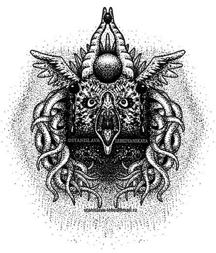 eagle owl by stanislava korn on deviantart. Black Bedroom Furniture Sets. Home Design Ideas
