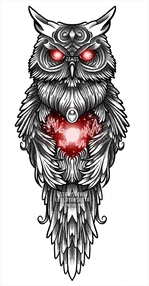 tesla owl by stanislava korn on deviantart. Black Bedroom Furniture Sets. Home Design Ideas