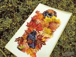 Stanislava-lebedyanskaya-autumn-theme-feat by Stanislava-Korn