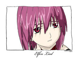 Elfen Lied Drawing by Andy721