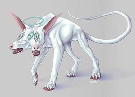 Three eyes dog