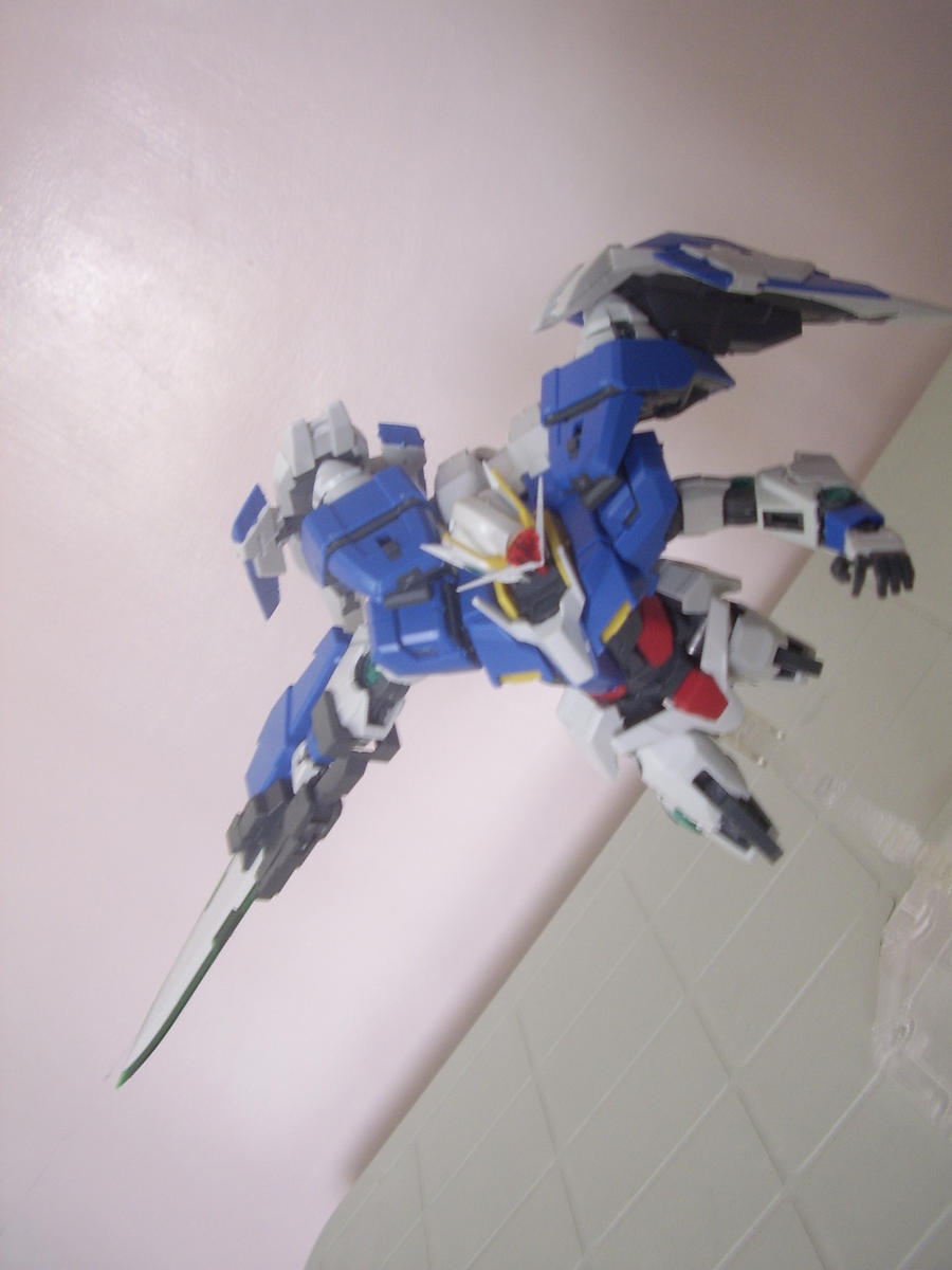 1 100 Mg Gundam 00 Raiser By Twindrive On Deviantart
