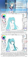 Hair Coloring Tutorial by DM-iTH
