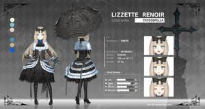 LIZZETTE RENOIR - Character Sheets