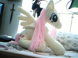 MLP - Crocheted Fluttershy