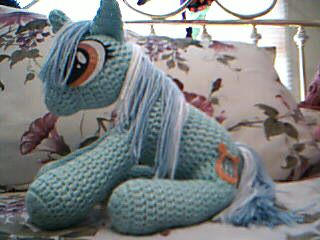 MLP - Crocheted Lyra