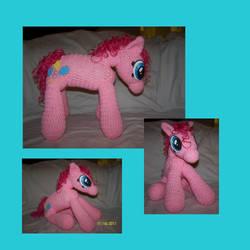 MLP - Crocheted Pinkie Pie