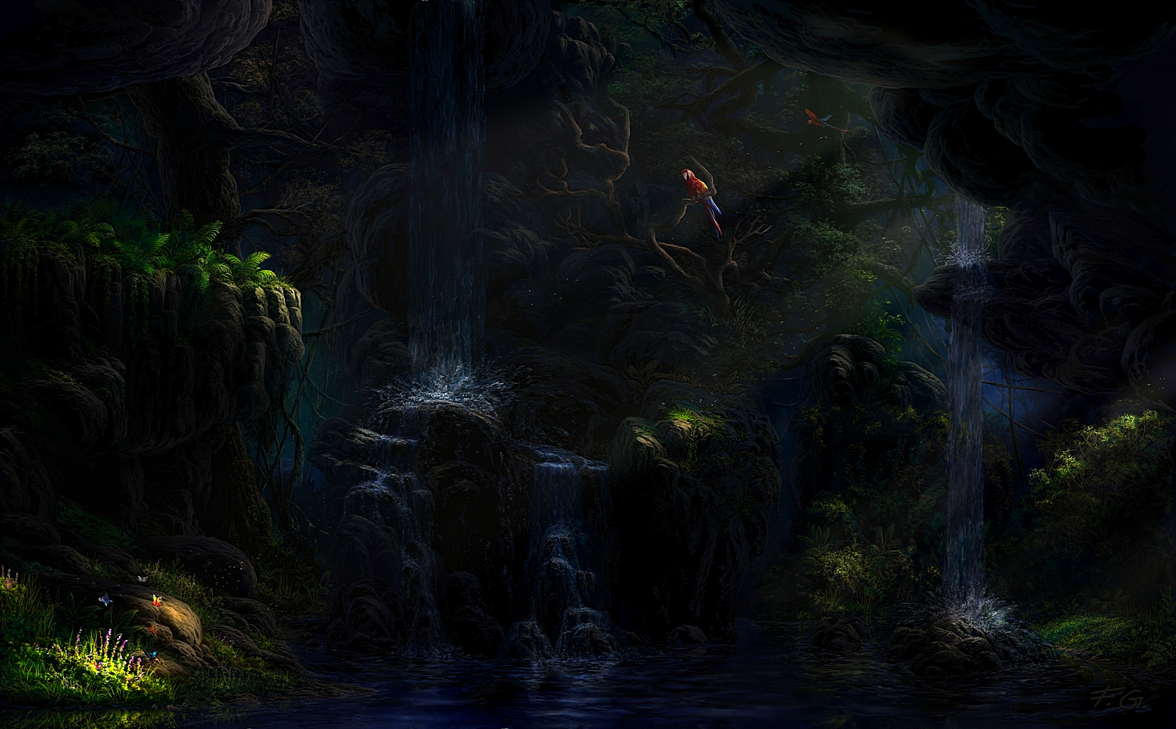 In the jungle by Fel-X