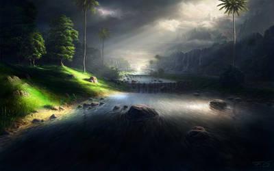 in the tropics by Fel-X