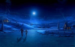 Winter Night by Fel-X