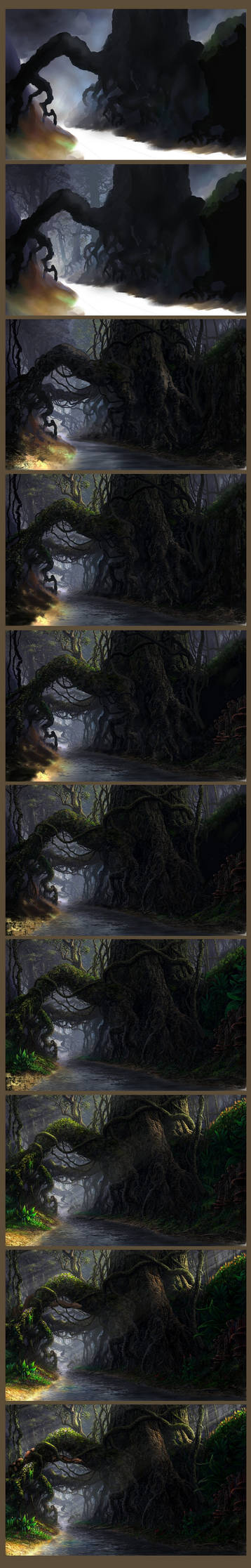 Roots - step by step