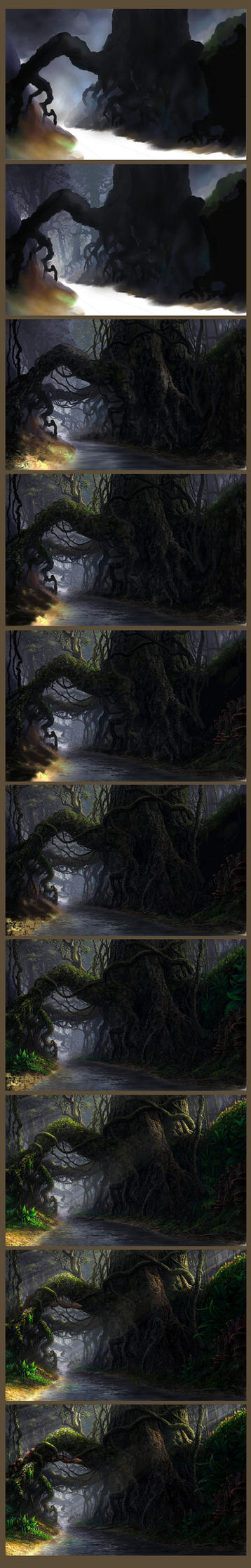 Roots - step by step by Fel-X