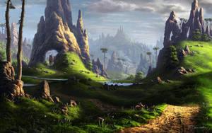 Near the castle by Fel-X
