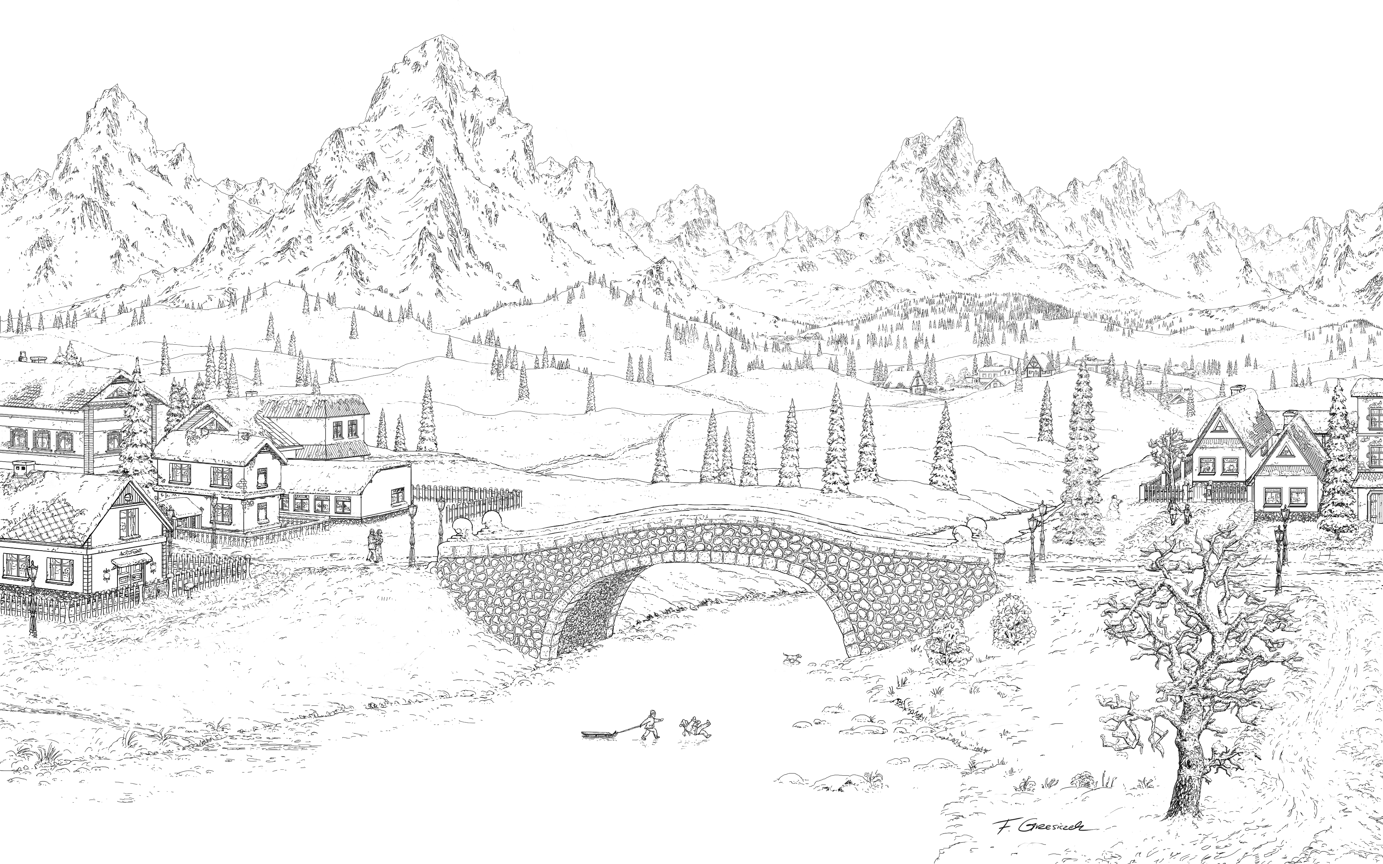 Bridge_lines by Fel-X