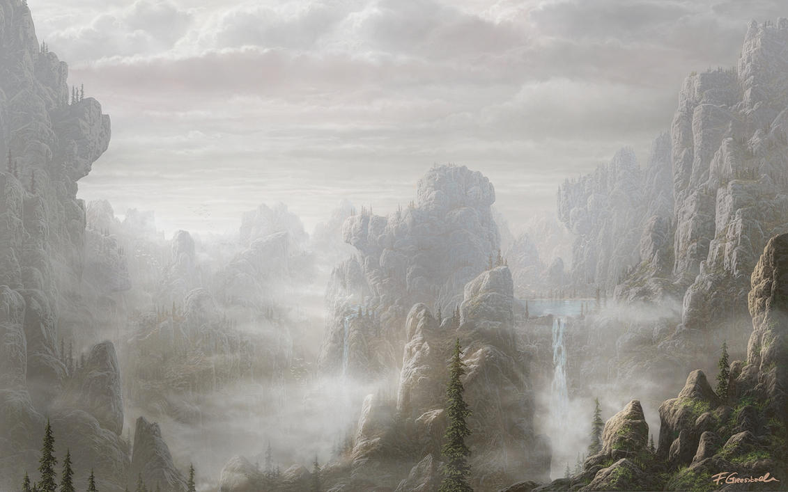 Unknown land by Fel-X
