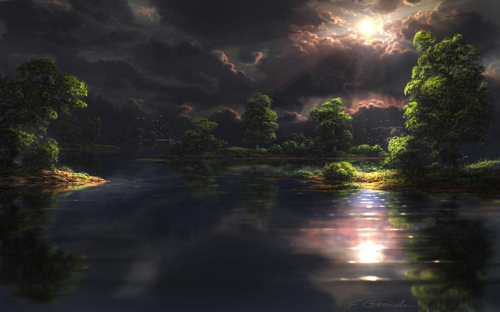 Lake by Fel-X