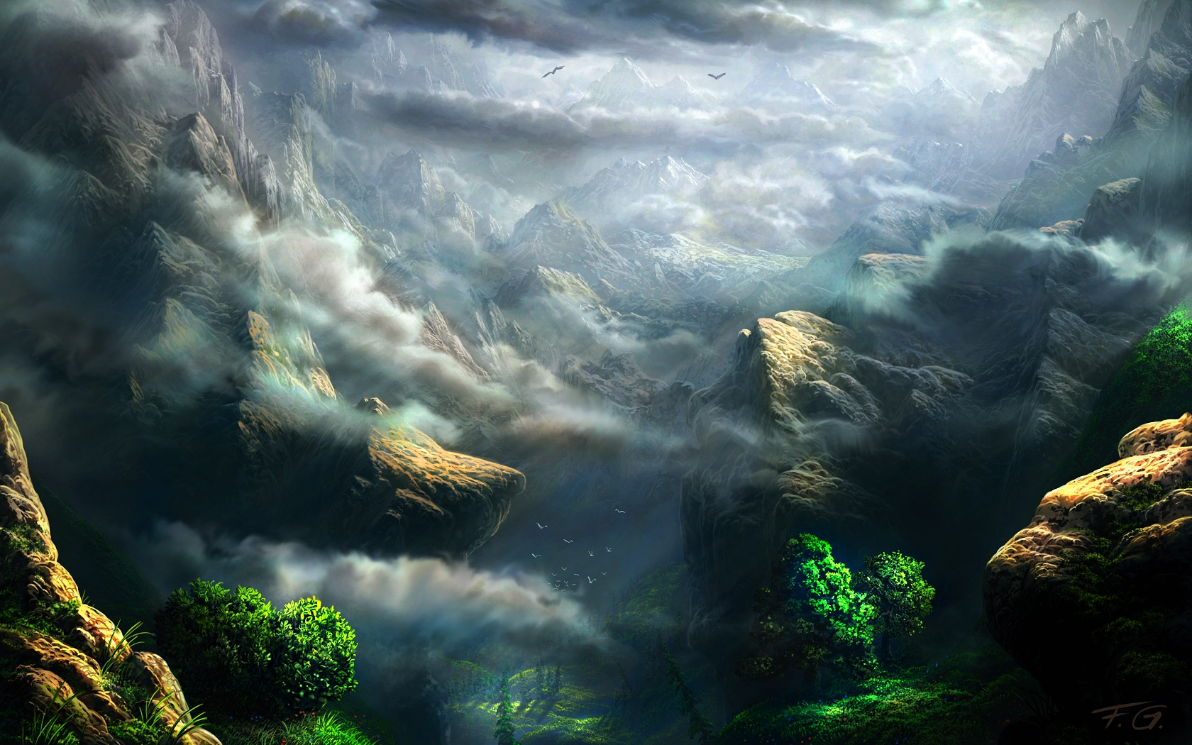 Mountain Weather by Fel-X