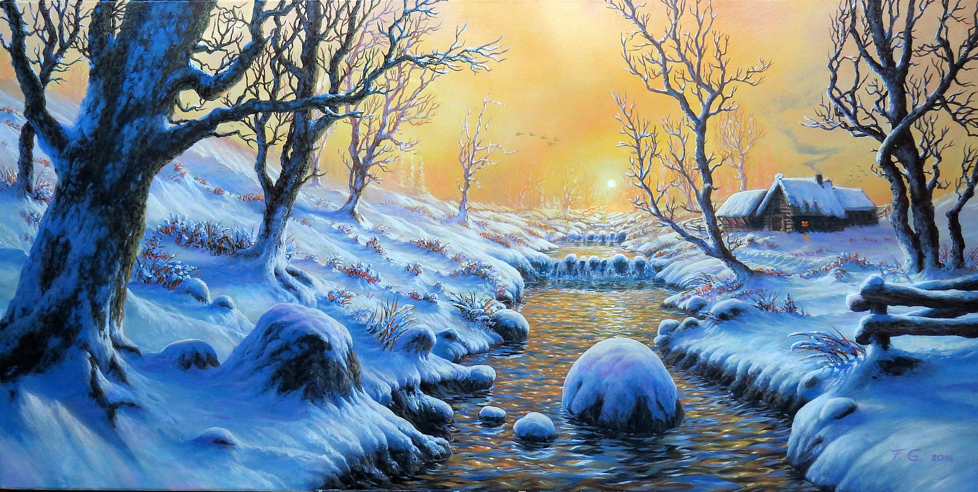 Winter morning by Fel-X