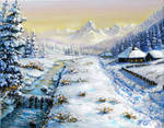 Winter and Huts