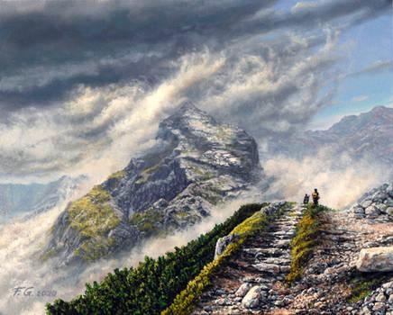 Koscielec - mountain peak in Poland