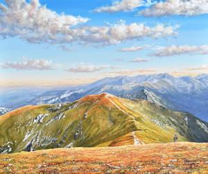 Czerwone Wierchy - Polish Tatra Mountains by Fel-X