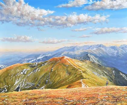 Czerwone Wierchy - Polish Tatra Mountains