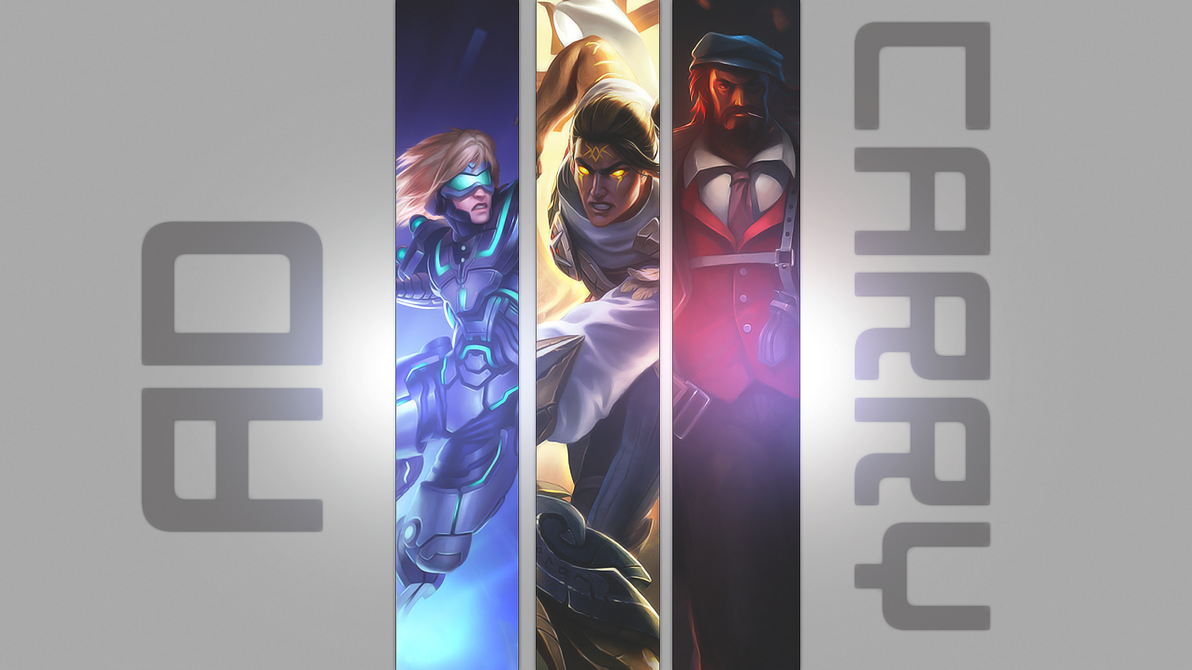 AD Carry, League of Legends wallpaper. by ZnypicsART on ...