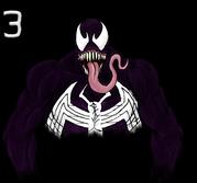 Spider-man's Venom by OogieBluegie