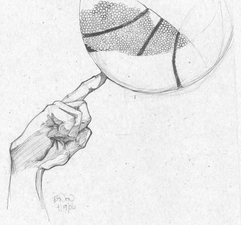 Basketball Sketch By BDonnell76 On DeviantART
