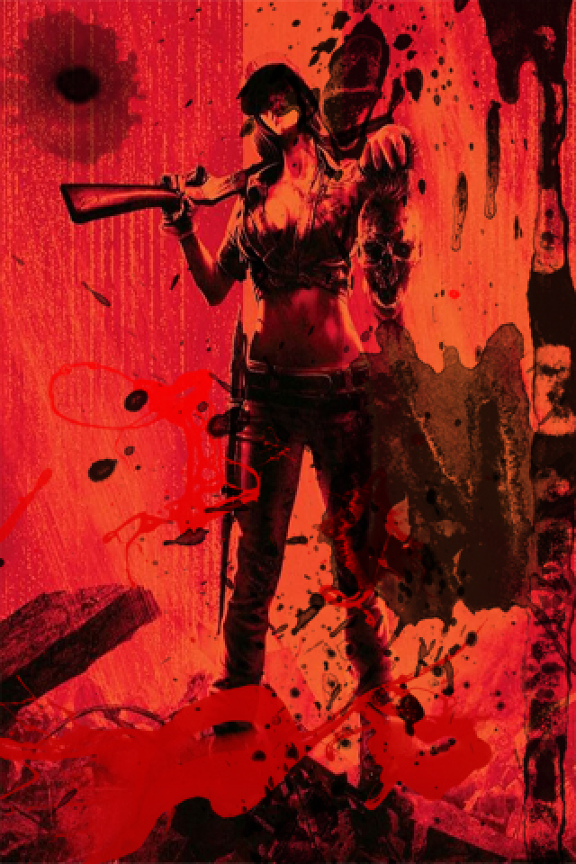 Black Ops 2 Zombie Wallpaper Iphone By El President Ay