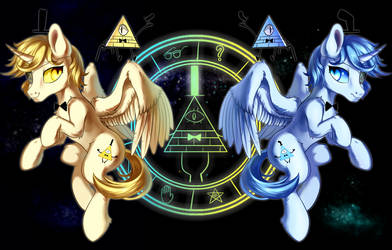 Bill Cipher and Will Cipher(pony)