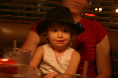 My favorite little girl by theshyfox